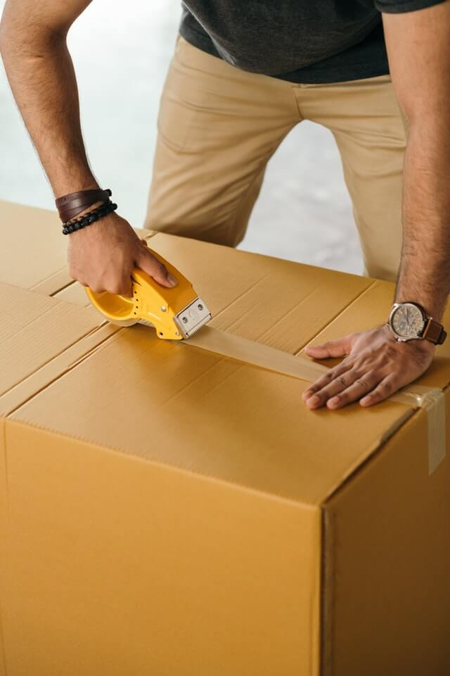 Packing of box